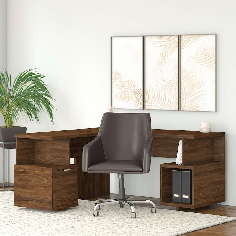 L-Shaped Desk - Madison Avenue Collection