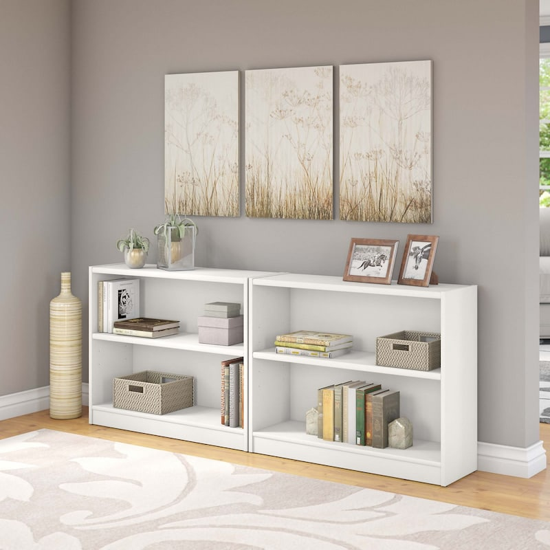 Universal Bookcases White
