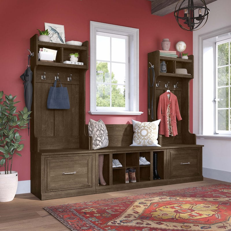 Full Entryway Storage Set-Woodloand Collection