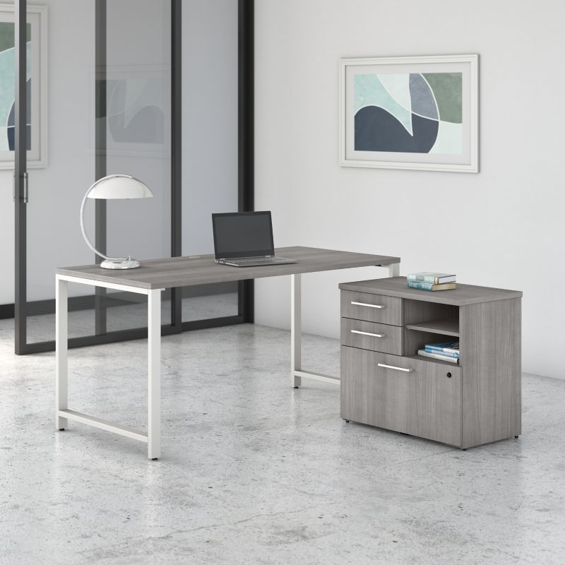 Table Desk with Storage