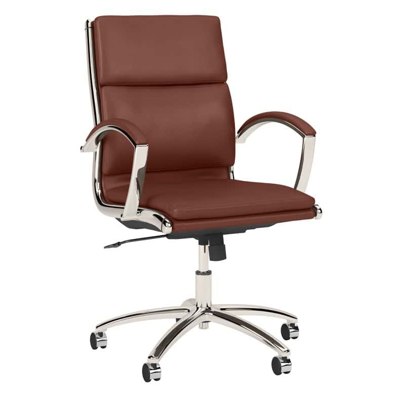 Mid Back Leather Executive Office Chair - Modelo Collection