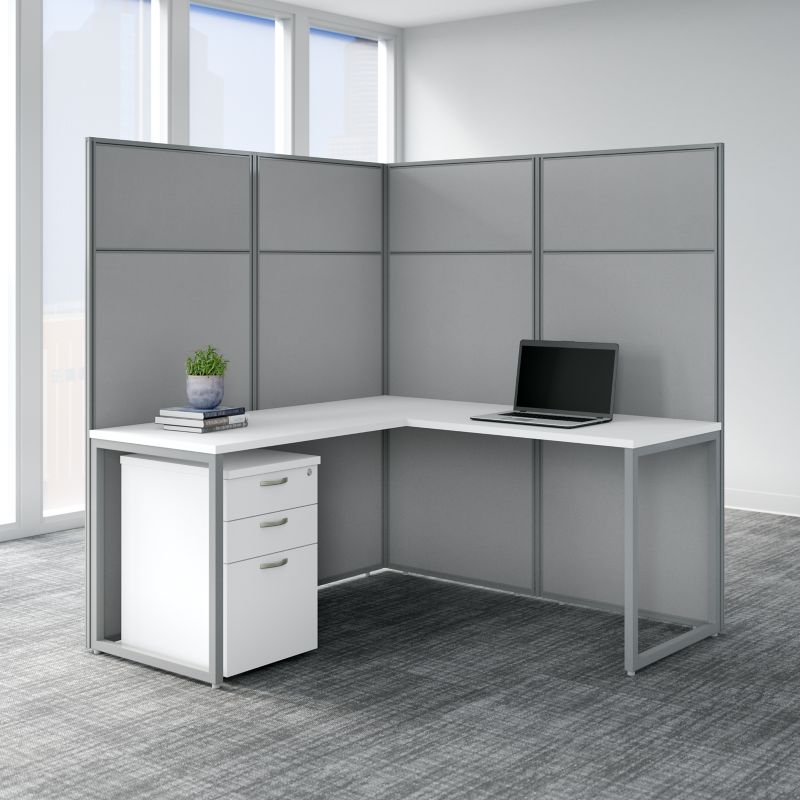 Cubicle Panel and File Cabinet