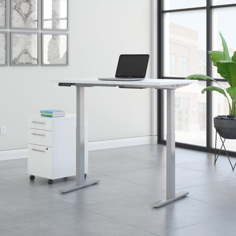 Height Adjustable Standing Desk with Storage - Move 60 Collection
