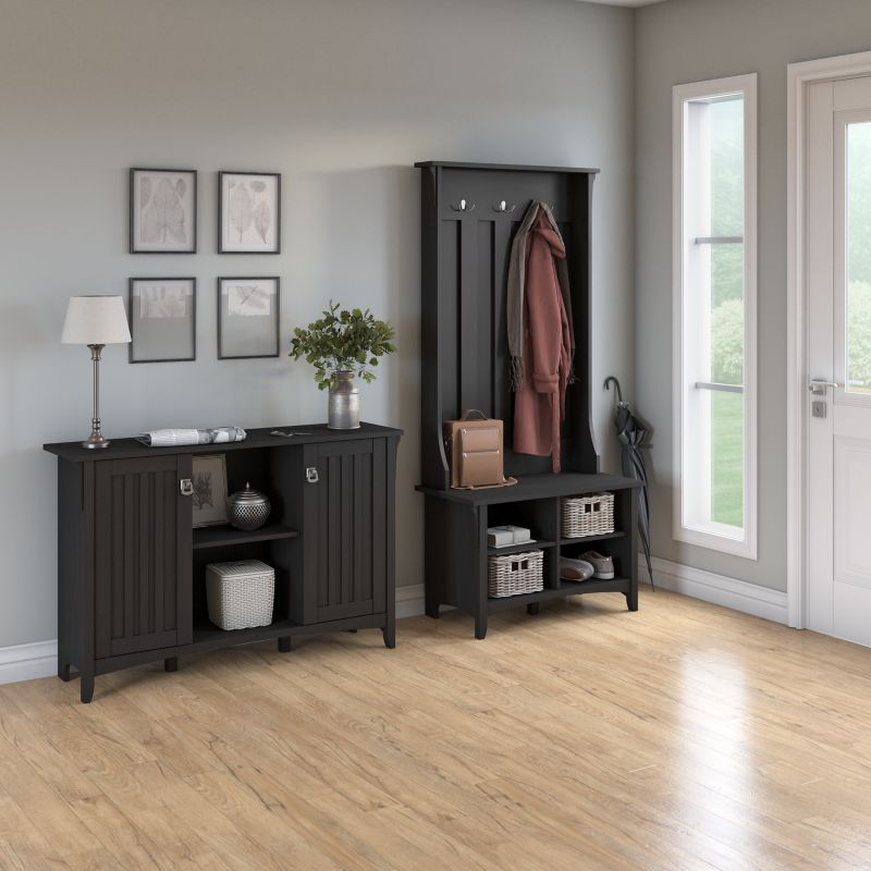 Hall Tree with Storage Bench - Salinas Collection