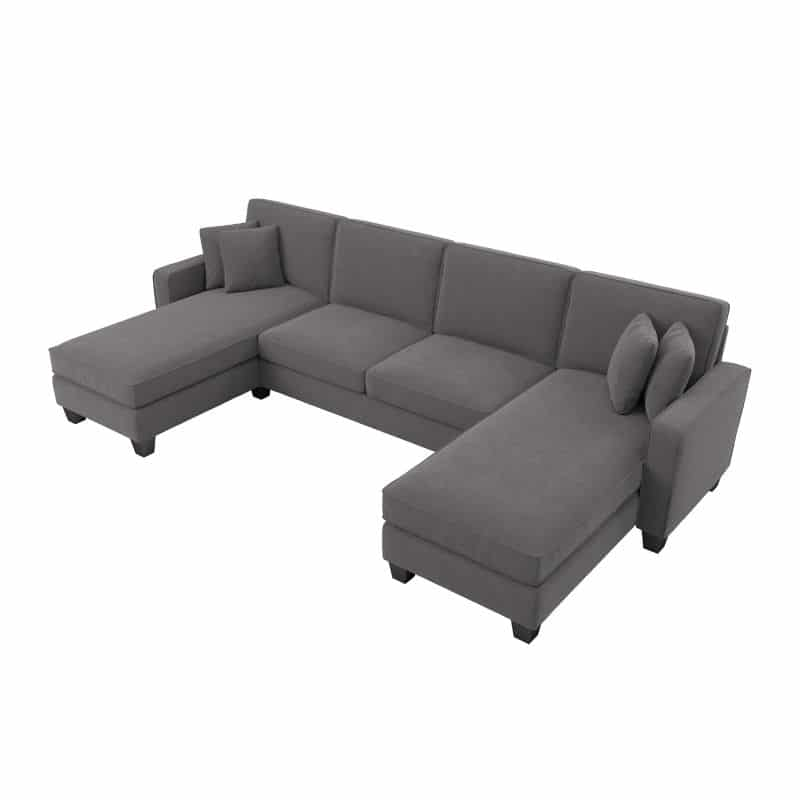 Sectional Couch with Double Chaise Lounge - Stockton Collection