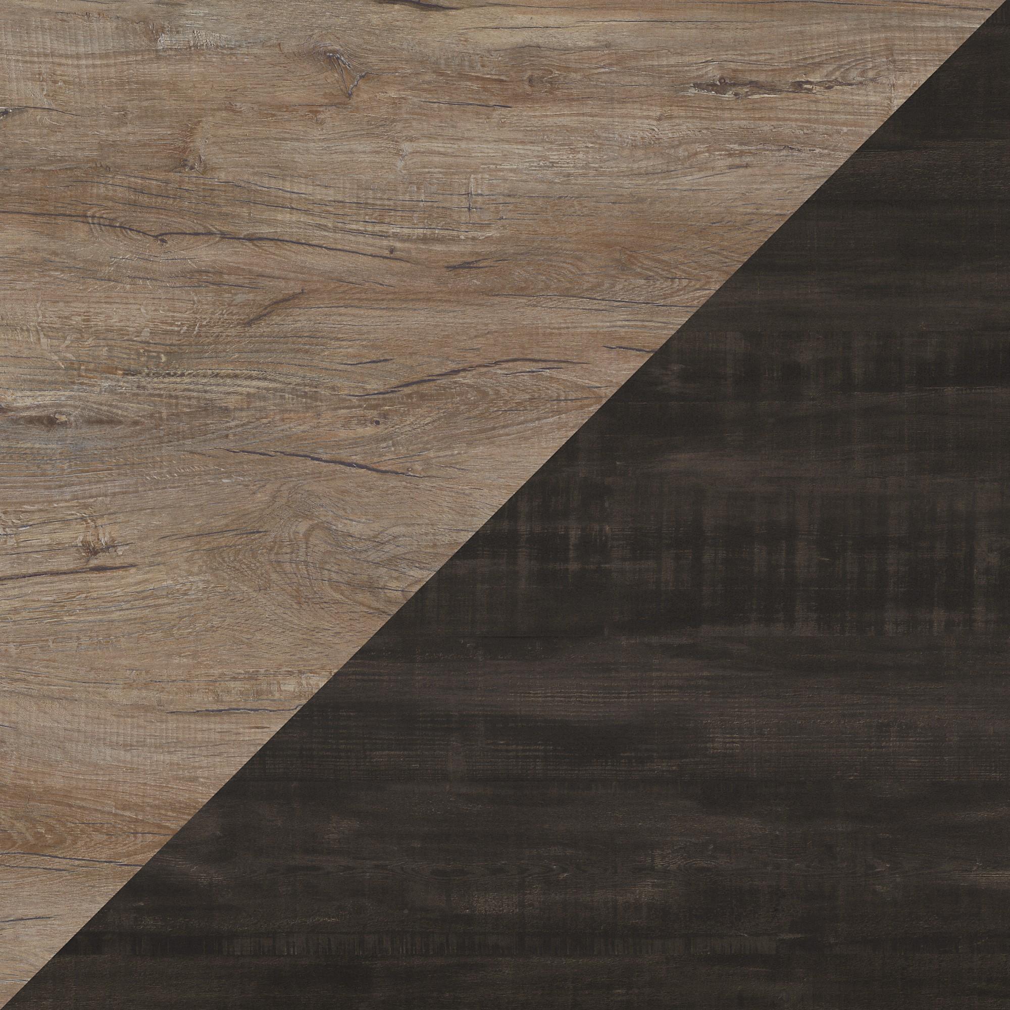 Rustic Gray/Charred Wood