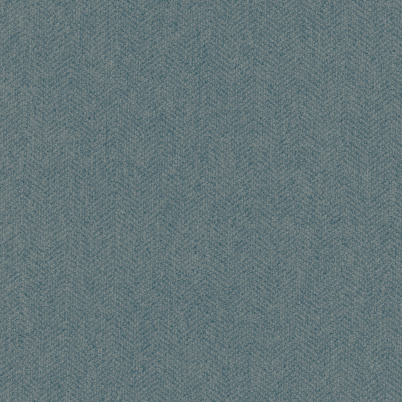 Turkish Blue Herringbone Fabric