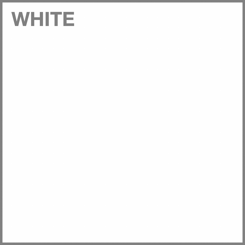 White/Black Powder Coat