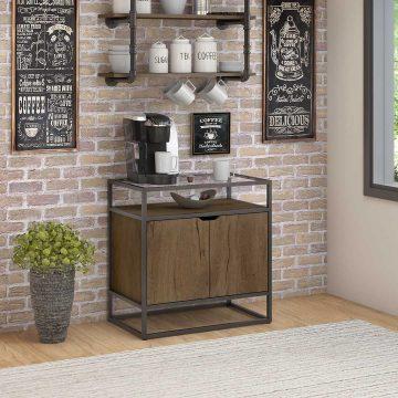 Coffee Bar with Storage