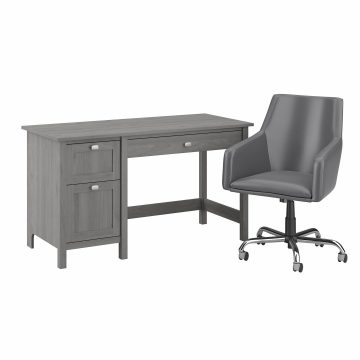 54W Computer Desk and Chair Set