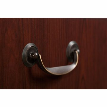 Manager's Desk, Credenza and Bookcase