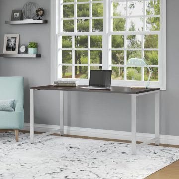 60W x 30D Table Desk with Metal Legs