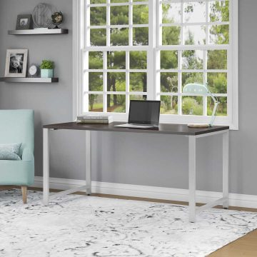 72W x 30D Table Desk with Metal Legs