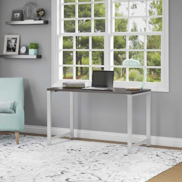 48W x 24D Table Desk with Metal Legs