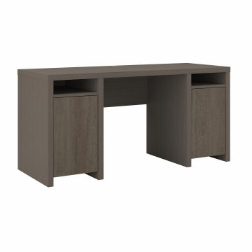 Computer Desk with Storage Cabinets and Shelves
