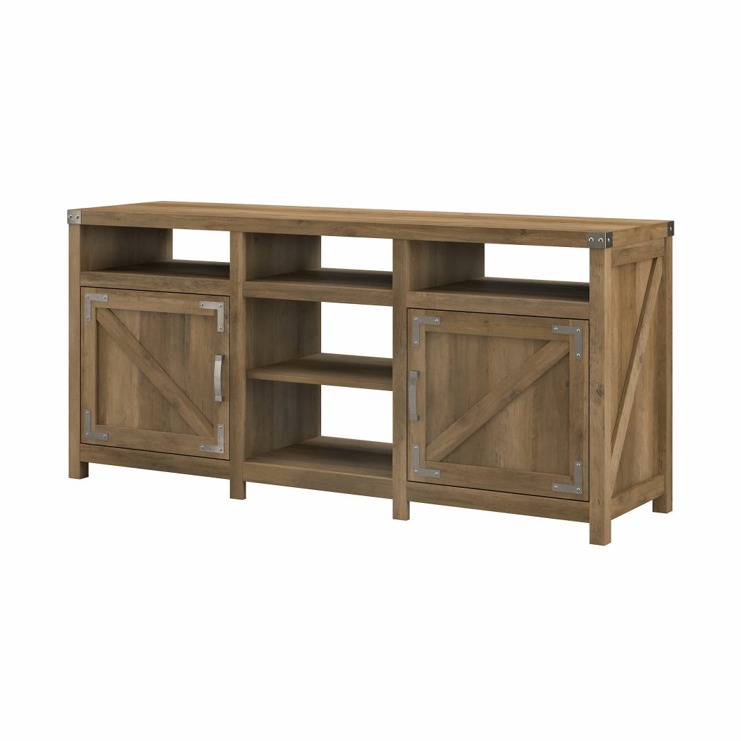 65W Farmhouse TV Stand for 70 Inch TV