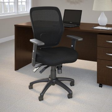 Mid Back Multifunction Mesh Office Chair