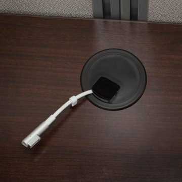 60W Desk with 66H Open Cubicle Panel
