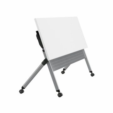 72W x 24D Folding Training Table with Wheels