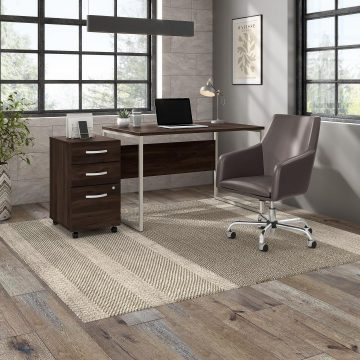 48W x 30D Computer Table Desk with Metal Legs