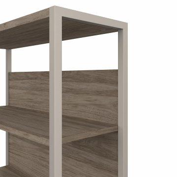 36W Bookcase Hutch