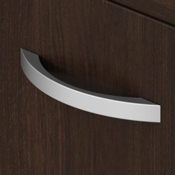 Low Storage Cabinet with Doors and Shelves