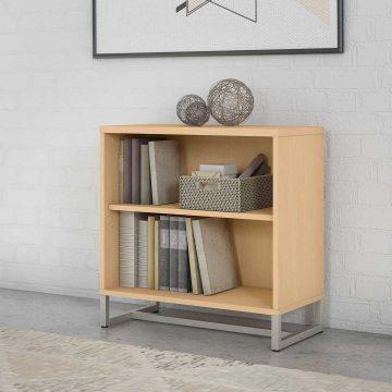 2 Shelf Bookcase Cabinet