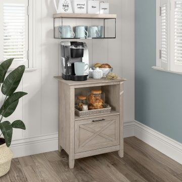 Small Coffee Bar with Drawer