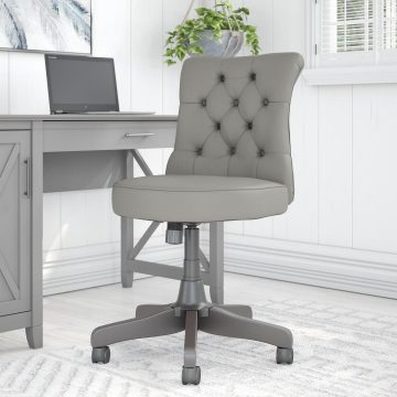 Mid Back Tufted Office Chair