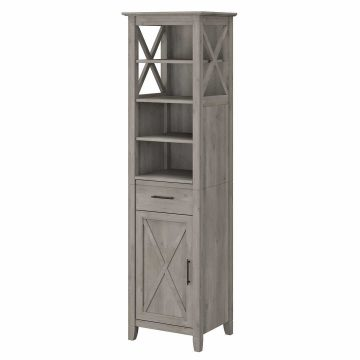 Tall Narrow Bookcase Cabinet