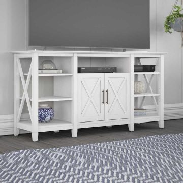 Tall TV Stand for 65 Inch TV