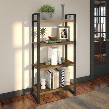 4 Shelf Etagere Bookcase