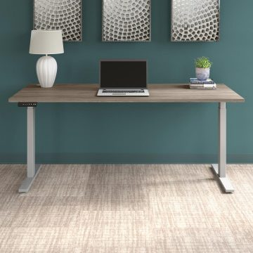 72W x 30D Electric Height Adjustable Standing Desk