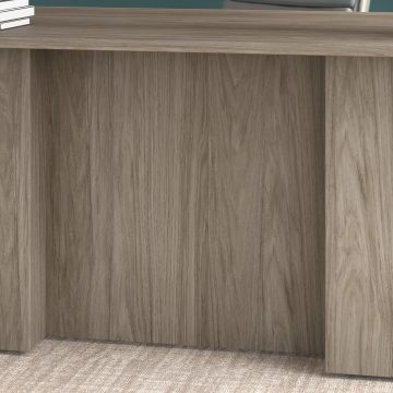 72W U Shaped Executive Desk with Drawers and Hutch
