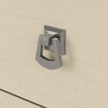 60W L Shaped Desk and Chair Set with Hutch, File Cabinets and Bookcase