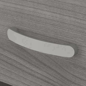 Floor Storage Cabinet with Drawer and Shelves