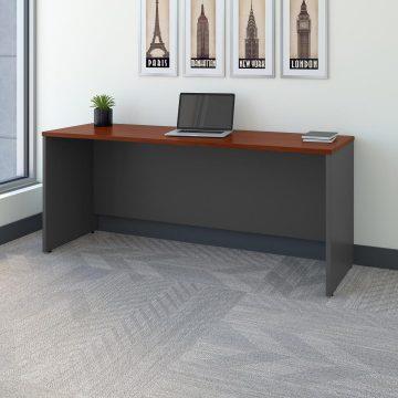 72W x 24D Credenza Desk