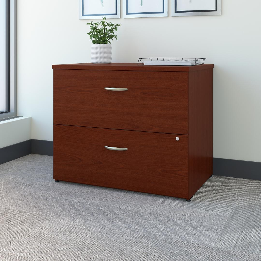 36W 2 Drawer Lateral File Cabinet