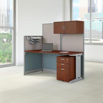 65W x 33D Cubicle Workstation with Storage