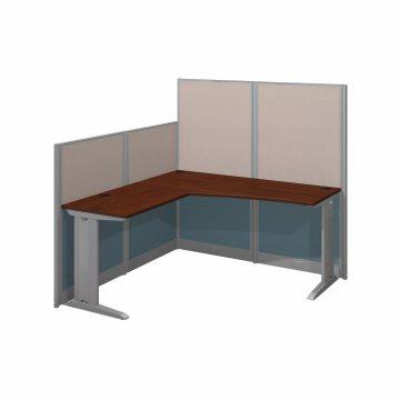 65W x 65D L Shaped Cubicle Workstation