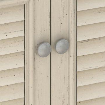 2 Door Storage Cabinet with File Drawer