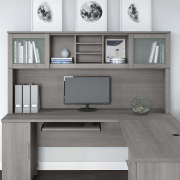 72W Desk Hutch