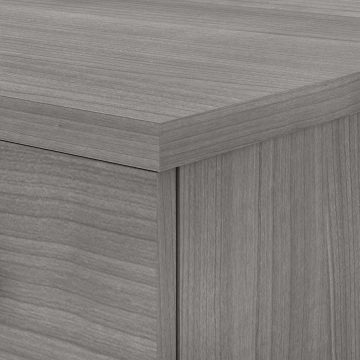 60W Office Desk with Drawers