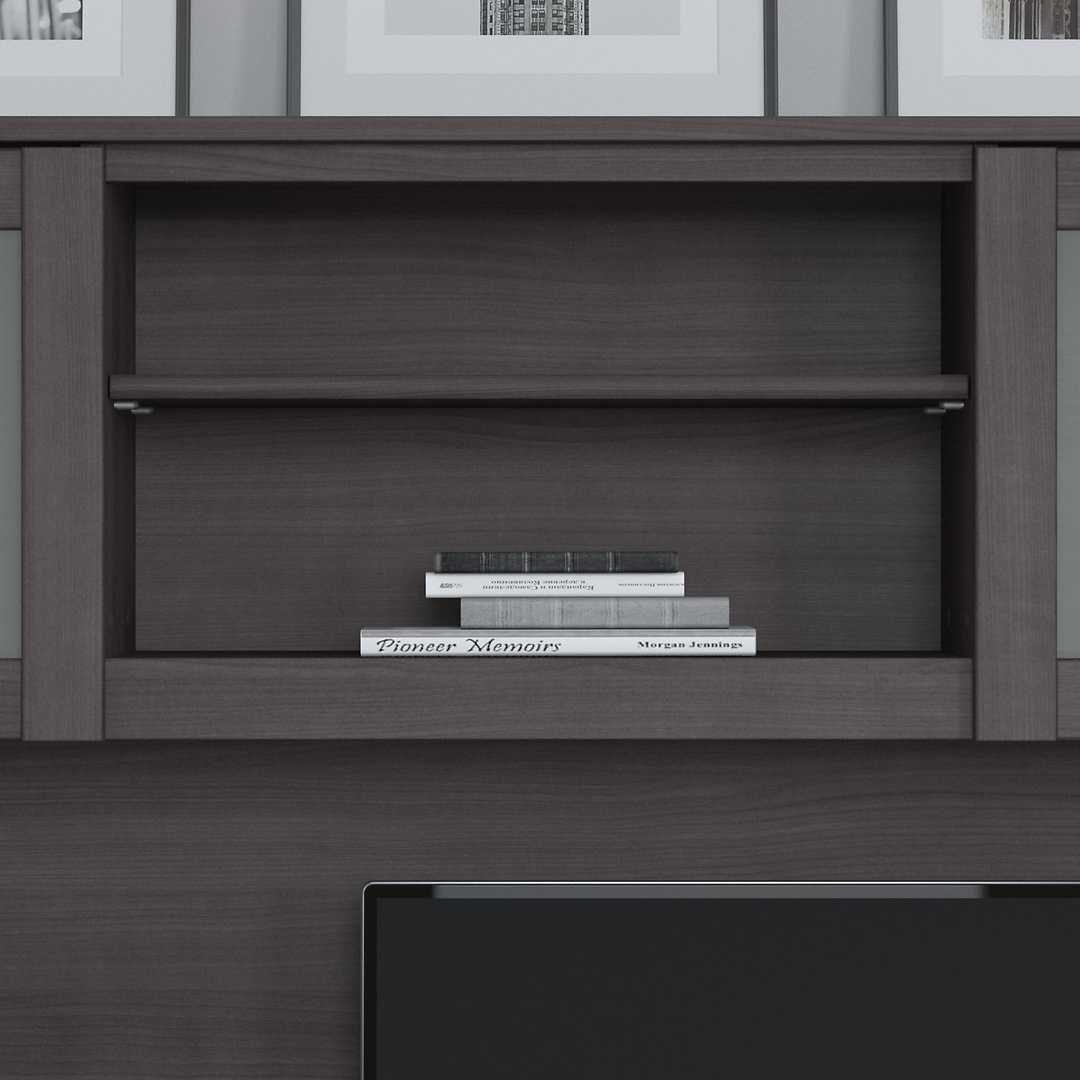 60W Desk Hutch