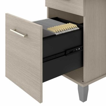 72W Office Desk with Drawers