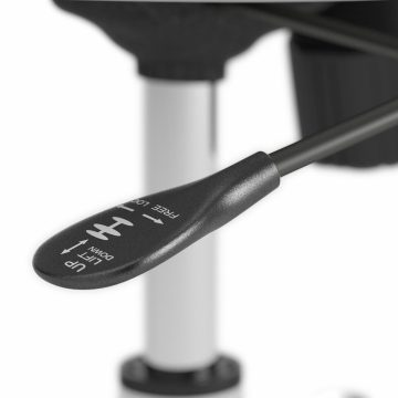 High Back Leather Box Chair