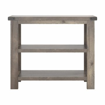 36W Narrow Console Table with Shelves - Assembled