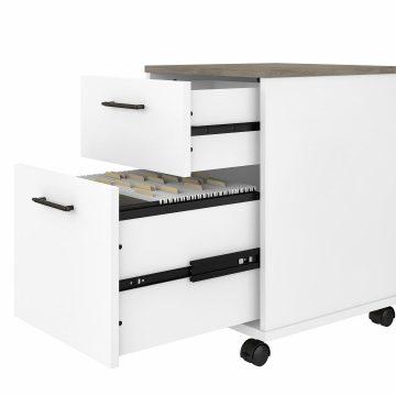 2 Drawer Mobile File Cabinet