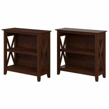 Small 2 Shelf Bookcase - Set of 2