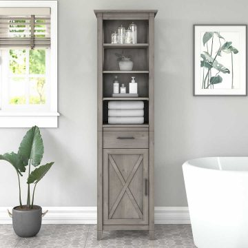 Tall Bathroom Storage Cabinet